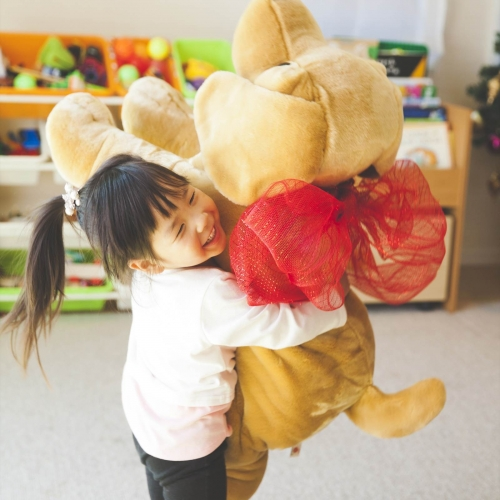 抱きしめたくなる大っきいわんちゃん